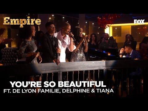 EMPIRE | You're So Beautiful - Empire Cast | FOX