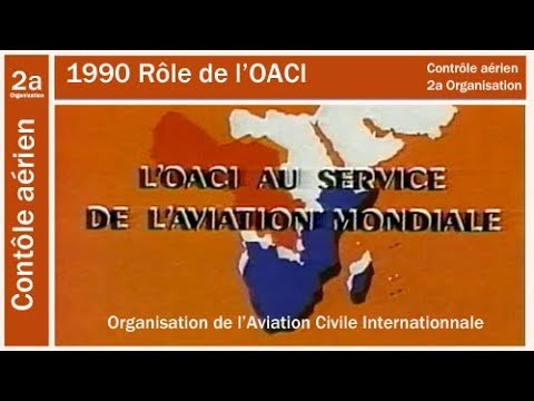 1990 OACI Organisation De L'aviation Civile Internationale
