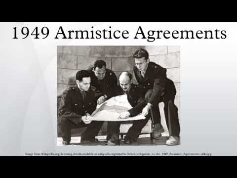 1949 Armistice Agreements