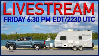 RV Chat Live! Let's talk about travel.