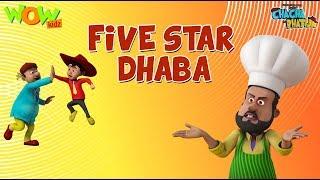 Five Star Dhaba - Chacha Bhatija - 3D Animation Cartoon for Kids - As seen on Hungama TV