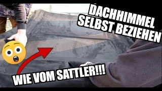 How to: Dachhimmel neu beziehen mit Alcantara | the easy way | BMW 325i Coupe E36