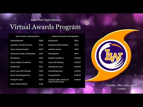 2020 Lake Weir High School Student Awards Ceremony