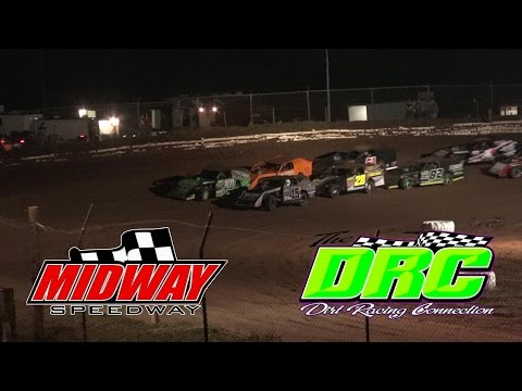 Midway Speedway | 6.5.16 | AMRA Modifieds | $1500 To Win Feature