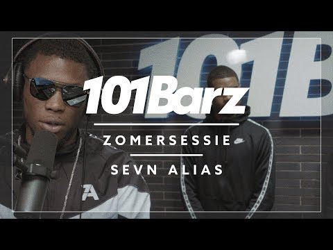 Sevn Alias - Zomersessie 2018 - 101Barz