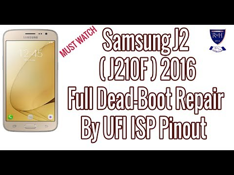Samsung J2 (J210F) Full Dead-Boot Repair By UFI ISP Pinout