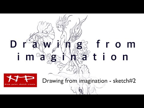 Procreate Tutorial - Drawing from Imagination - Sketch#2 thumbnail