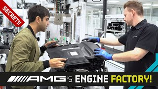 Mercedes-AMG Engine Factory!! + Official CUSTOM AMG Studio!!