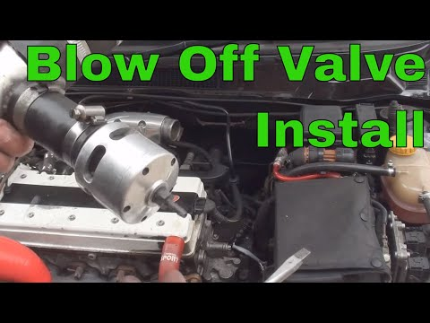 How To Install A Blow Off/ Dump Valve