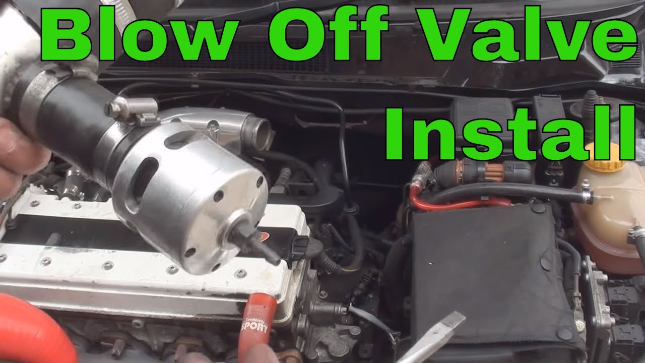 medium resolution of how to install a blow off dump valve
