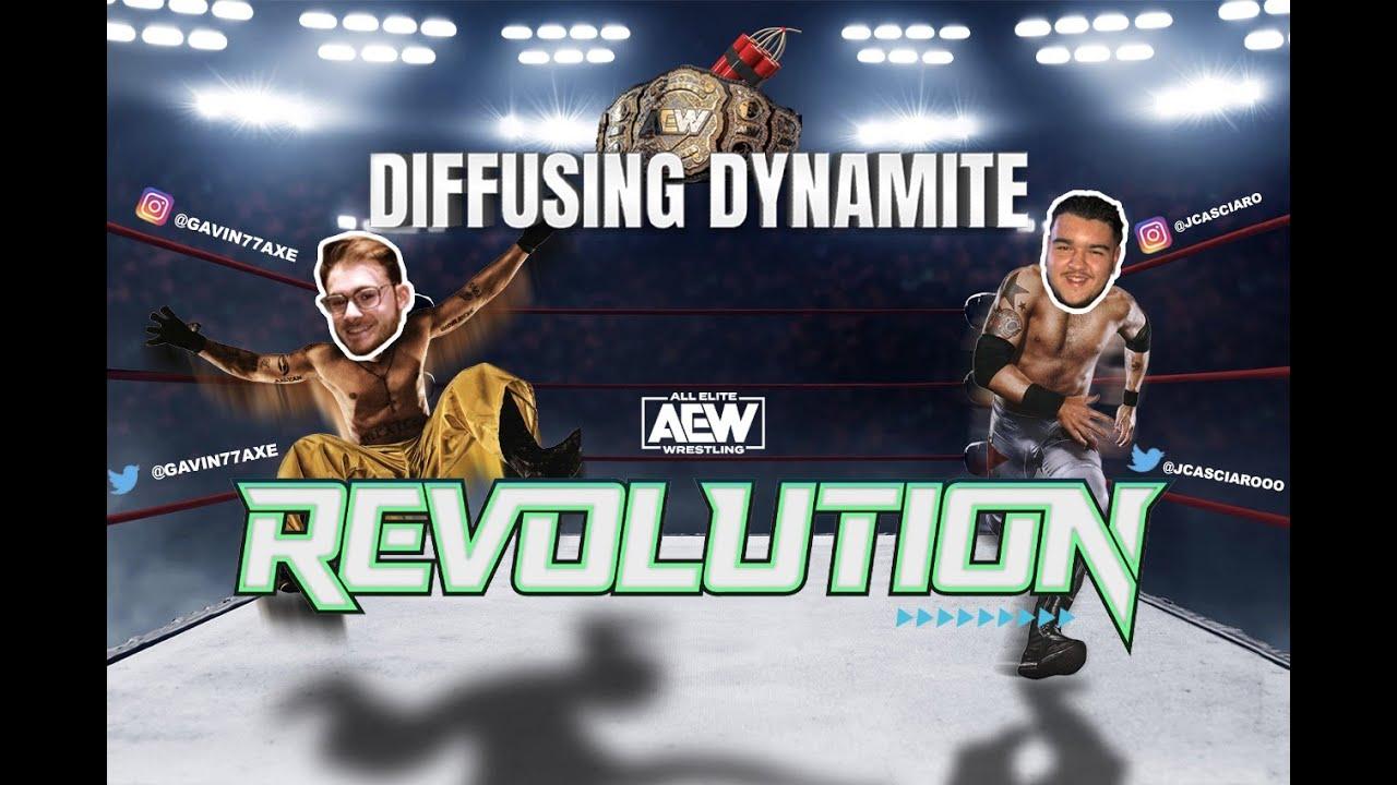 Diffusing Dynamite: Revolution 2021