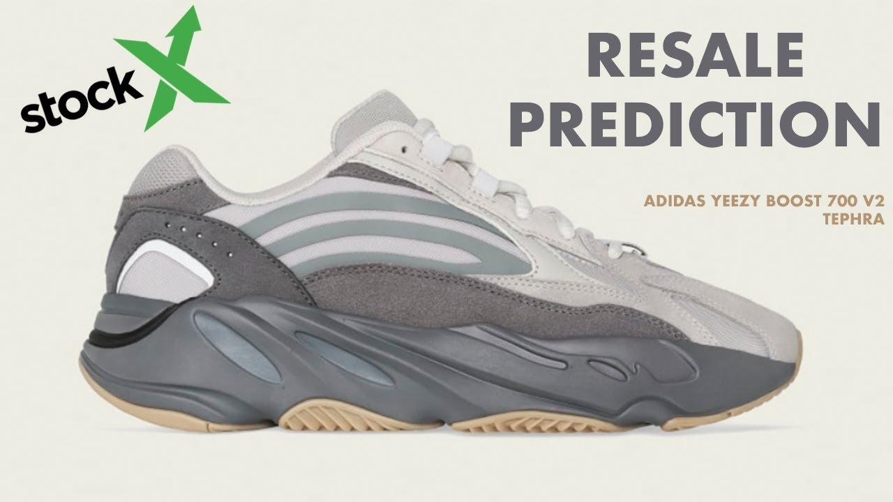 Adidas Yeezy Boost 700 V2 Tephra Resale