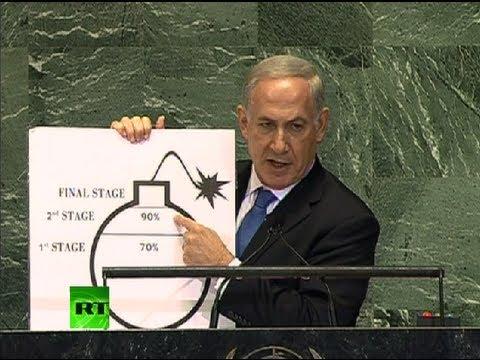 'Nuclear Iran same as nuclear-armed al-Qaeda': Netanyahu full UN 2012 speech