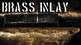 Brass Inlay in Steel // Metal Inlay Techniques: Brass Inlay in Metal  Tutorial