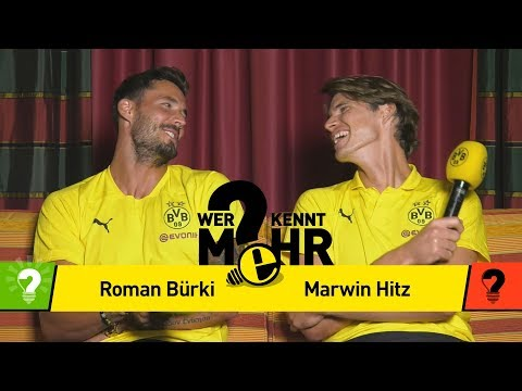Roman Bürki vs. Marwin Hitz | Who knows more? - The New BVB Duel