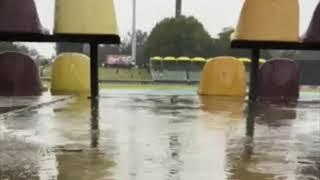 Heavy Rain in 3rd T20 SA vZIM