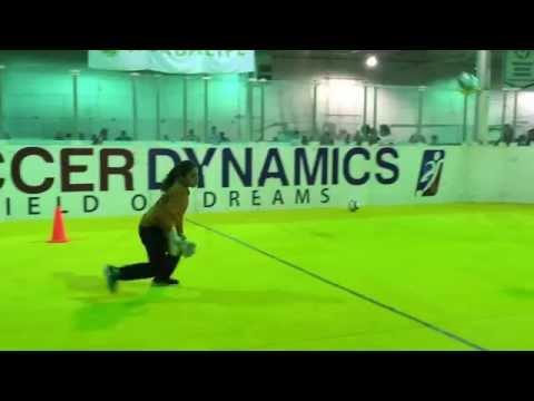 Goalkeeper training with Sagu@Soccer Dynamics.