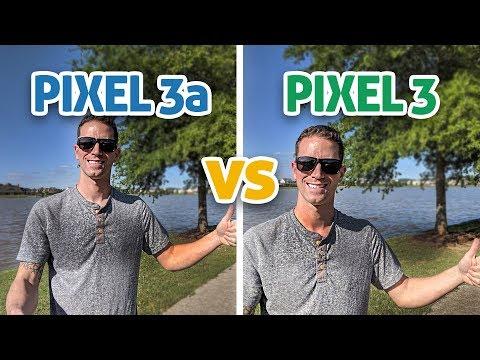 Pixel 3a vs Pixel 3: Camera Comparison Test! (4K)