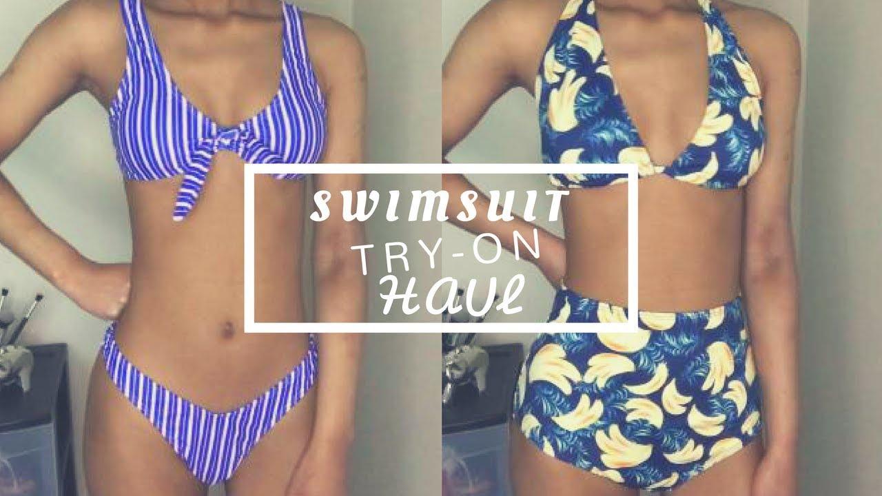 29eadfea013ed Spring Swimsuit Try-On Haul! 👙 (SHEIN) - YouTube