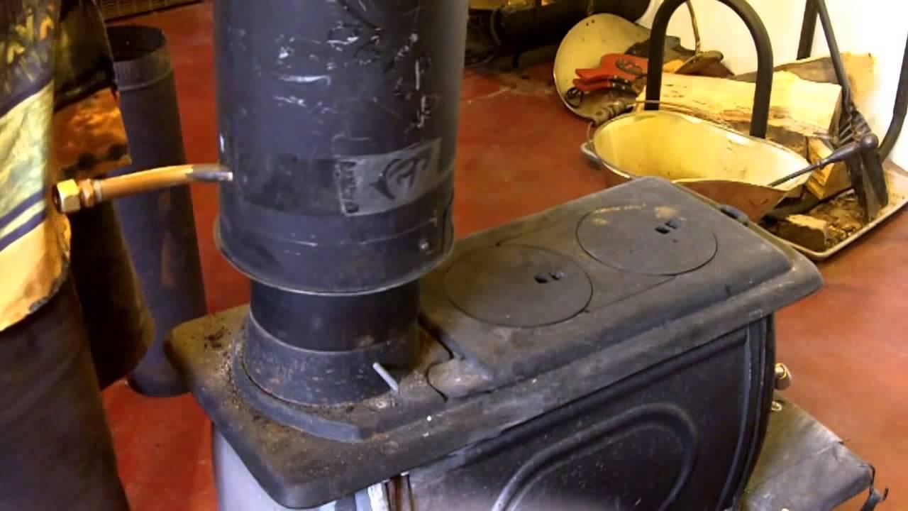 Acqua calda della stufa caminetto depuratore acqua for Tubo dell acqua calda
