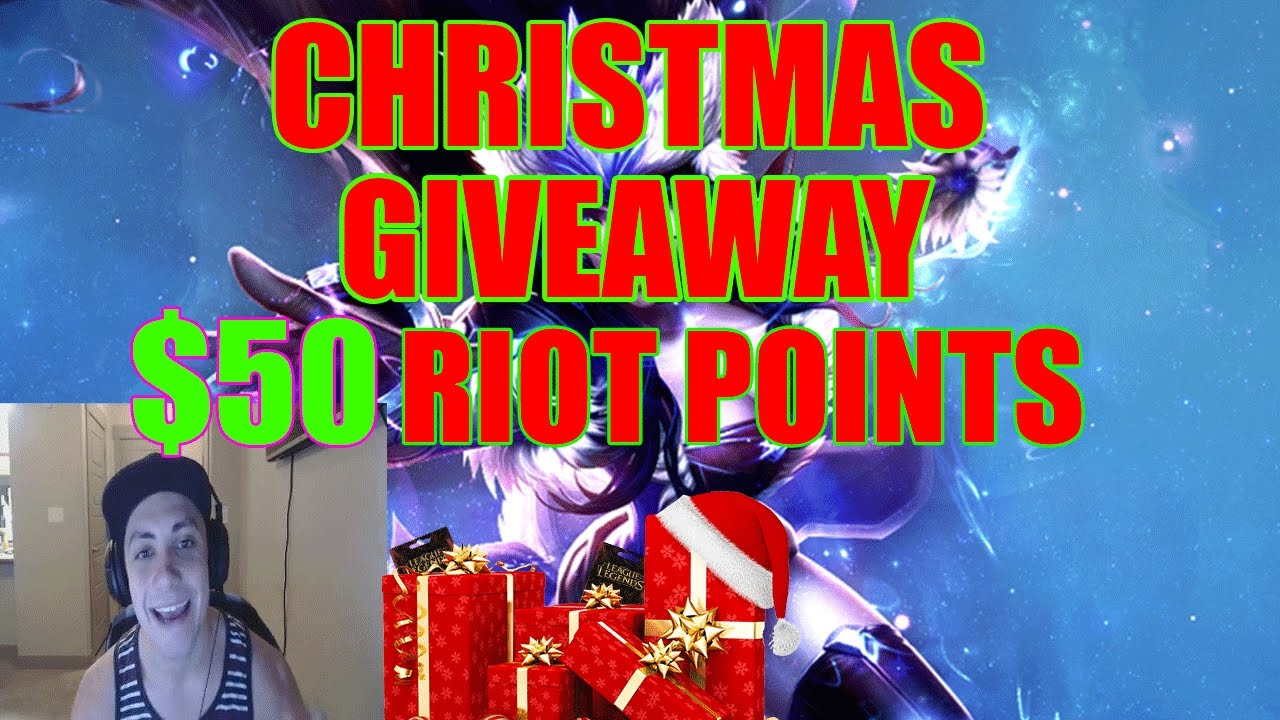 Lol christmas rp giveaway