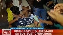 UB: Drug suspects, arestado sa buy-bust operation