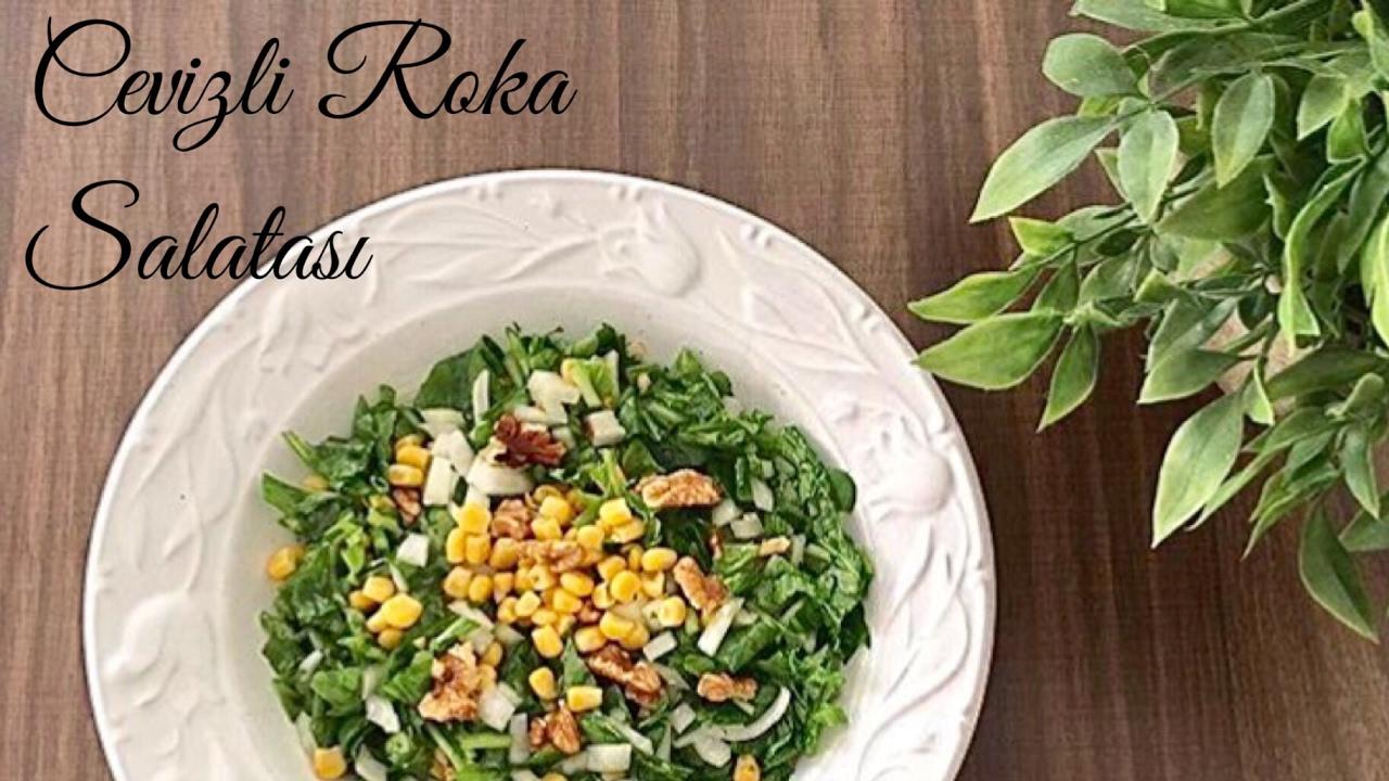 Narlı rokalı salata ile Etiketlenen Konular