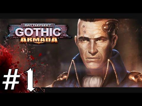 Battlefleet : Gothic Armada - Gameplay Introduction - Let's Play  Battlefleet Gothic / Gameplay