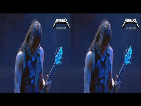 Metallica 3D SBS   Nothing else Matters HD 1080p  Nimes 2009