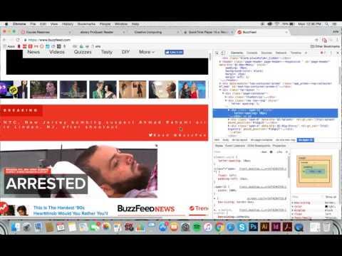 Creative Computing CSS HW