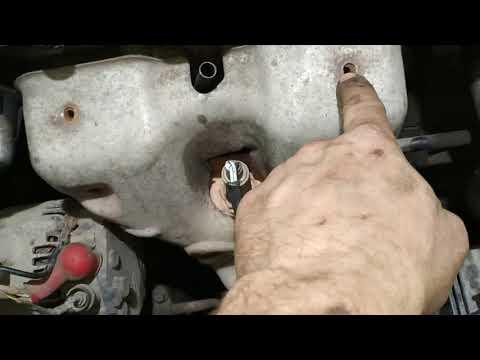 Демонтаж ГБЦ двигателя GA16DE  Нисан Примера