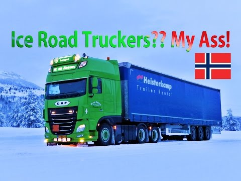 Ice Road Truckers?? My Ass! - Norway Trucking - WV 03 -William De Zeeuw