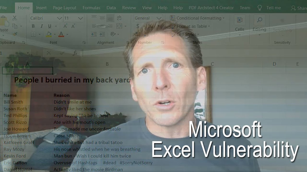 Windows 10 Hack - Microsoft Excel Vulnerability