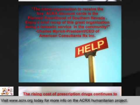 Pharmacy Discount Network Donate Rx Help To Planned Parenthood of Southern Nevada By Charles Myrick