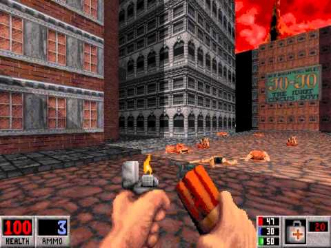 Let's Play Blood (Dosbox) (Well Done) E3M1 Ghost Town