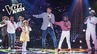 Andrés Cepeda, La Carranguerita, Santy y Carlos Mario cantaron Un Popurri