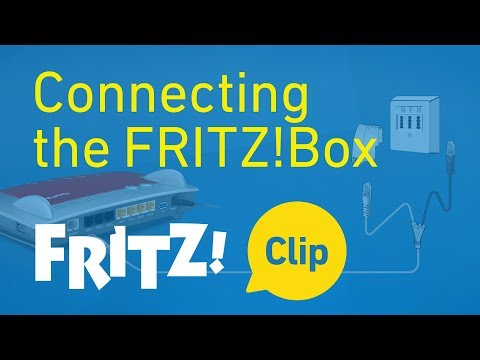 FRITZ! Clip - Connecting the FRITZ!Box in 5 minutes
