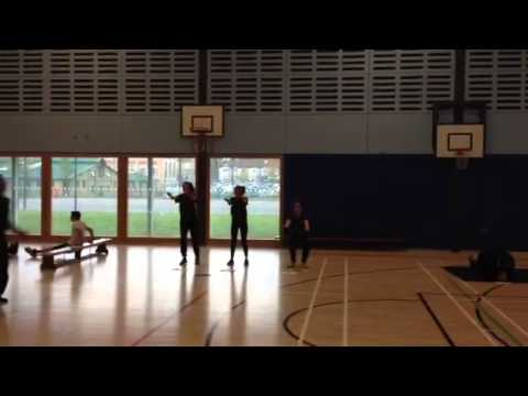 Yr11 GCSE PE fitness circuits S3 2