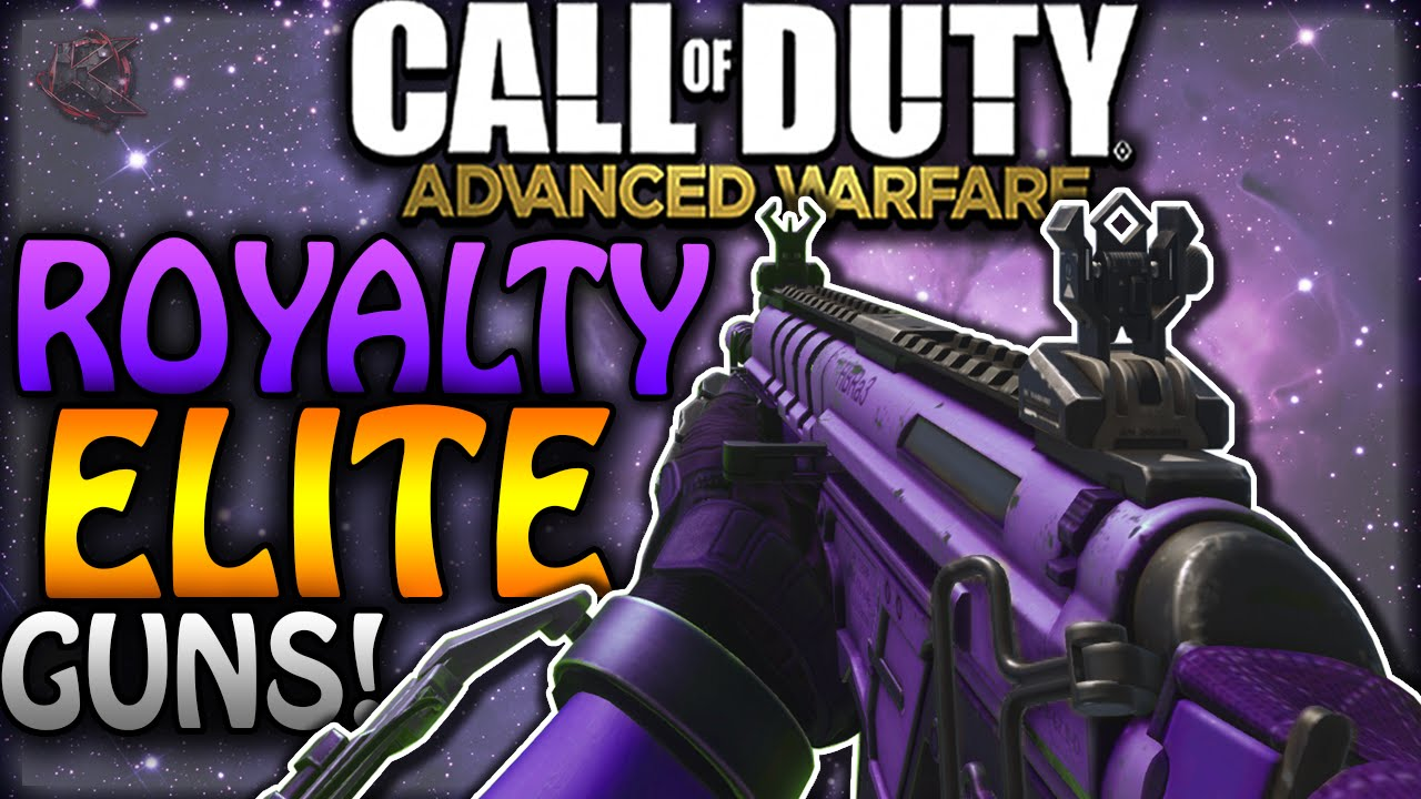 Advanced Warfare  NEW ROYALTY ELITE WEAPONS  Secret 3rd