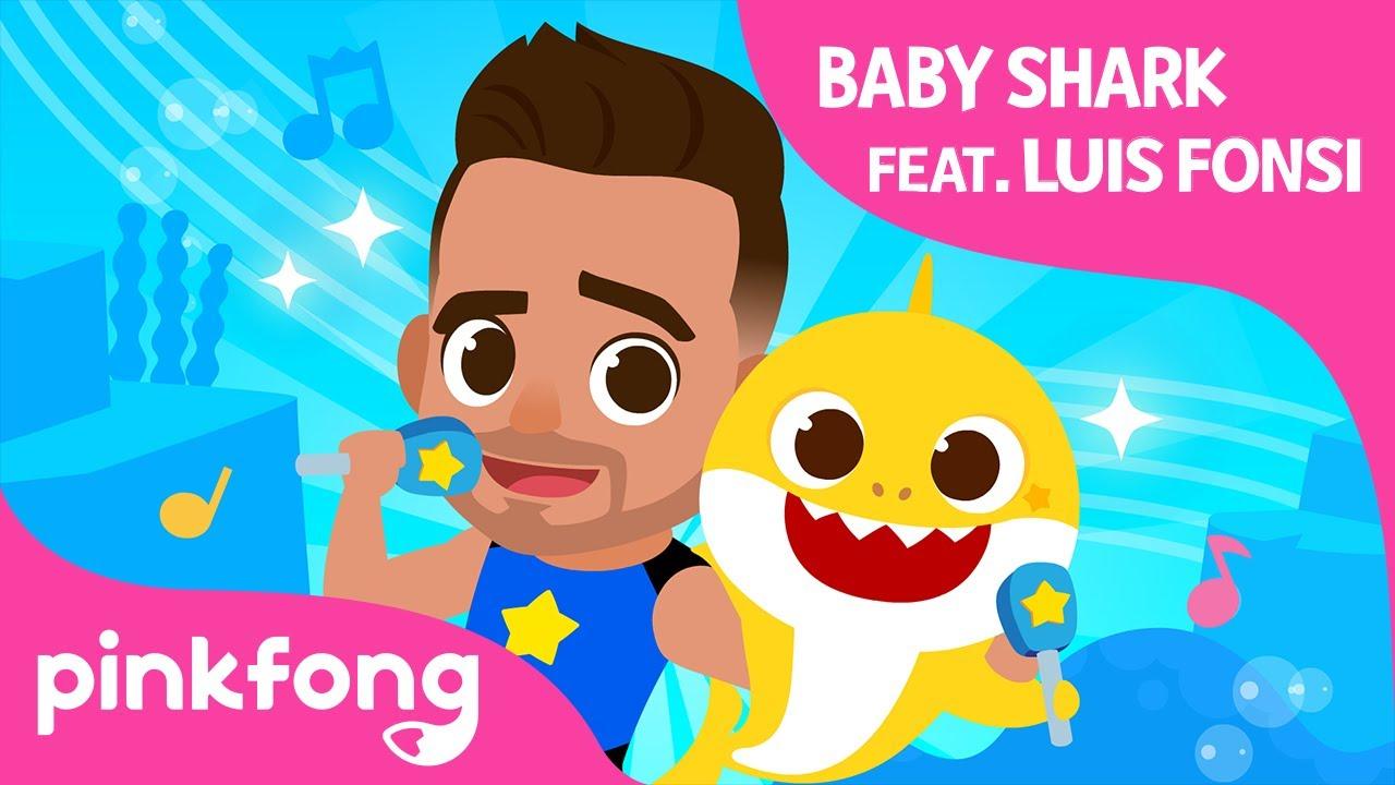 """Luis Fonsi lanza con sus hijos una versión del reconocido tema """"Baby Shark"""""""