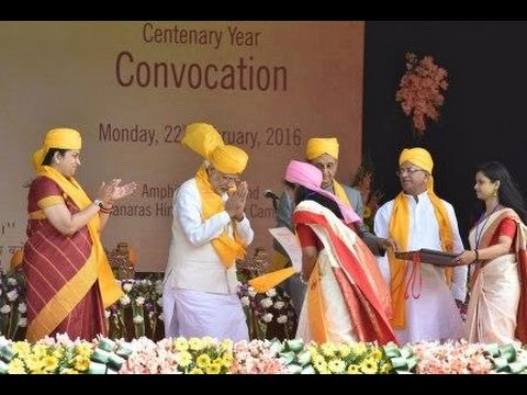PM Modi at Centenary Year Convocation of the Banaras Hindu University, Varanasi