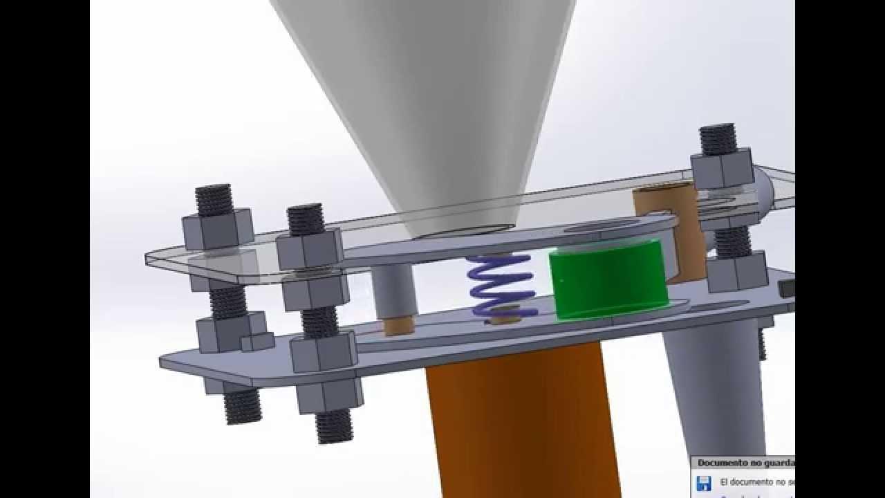 Dosificador simple doovi for Mecanismos de estores caseros
