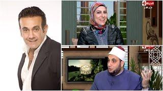 بالفيديو.. رد ساخر من مذيعة «الدين والحياة» على سؤال عاطفي لمتصلة