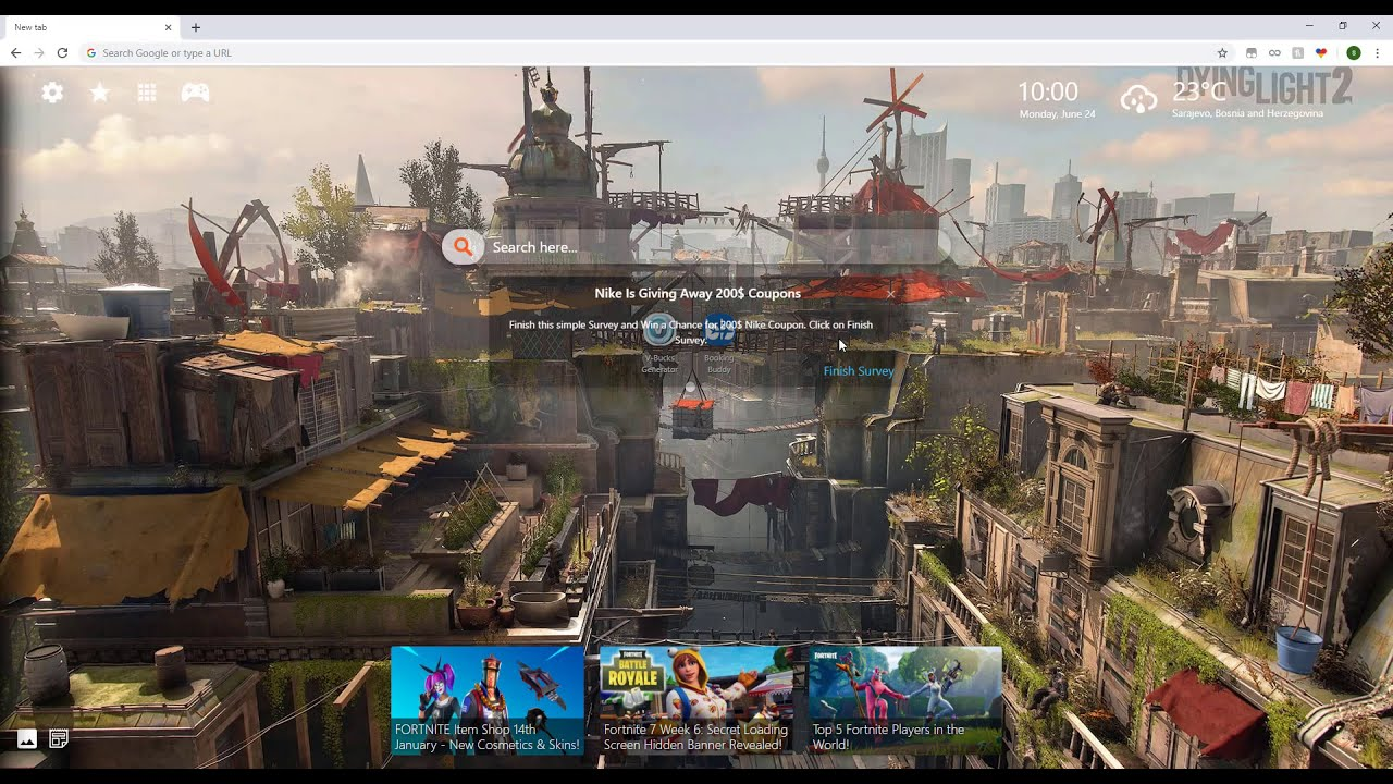 Dying Light 2 Hd Wallpaper Collection New Tab Theme For Chrome