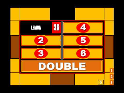 My Family Feud Powerpoint Game (ppt2007 only)