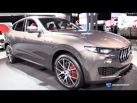 2017 Maserati Levante SUV - Exterior and Interior Walkaround - Debut at 2016 New York Auto Show