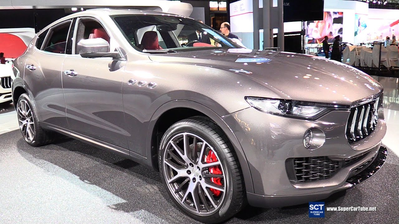2017 Maserati Levante Suv Exterior And Interior Walkaround Debut At 2016 New York Auto Show