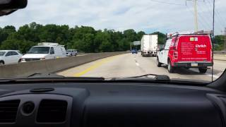 Responding Code 3 to an MVA in Heavy Traffic