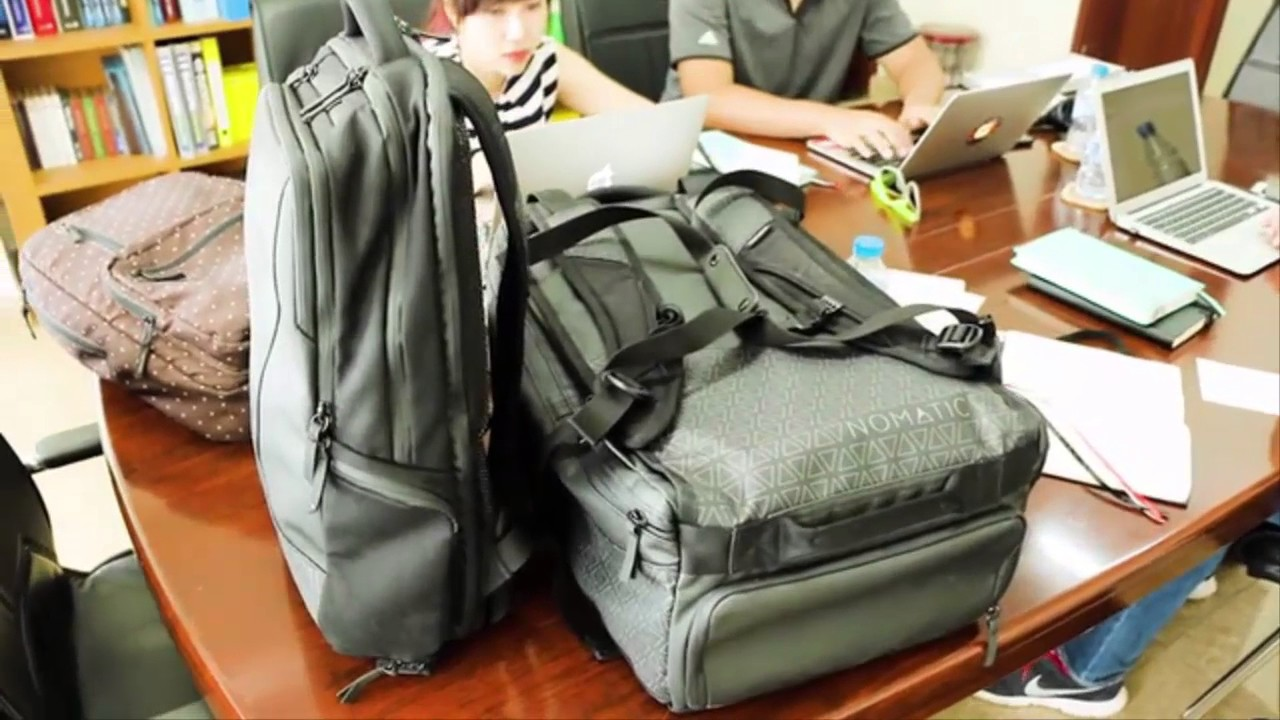 9ce0c59c5131c7 Useful backpacks from Kickstarter 2017! - YouTube