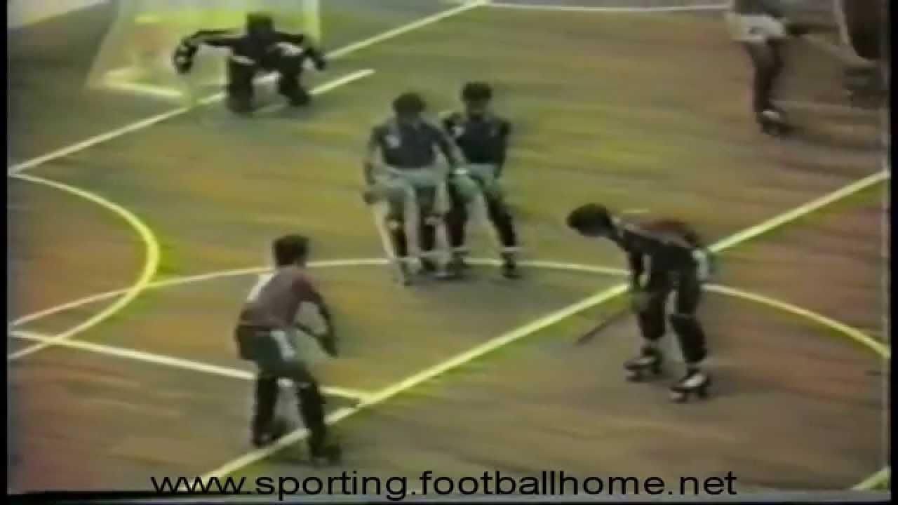 Hoquei Patins :: Trindade no Campeonato do Mundo de 1984